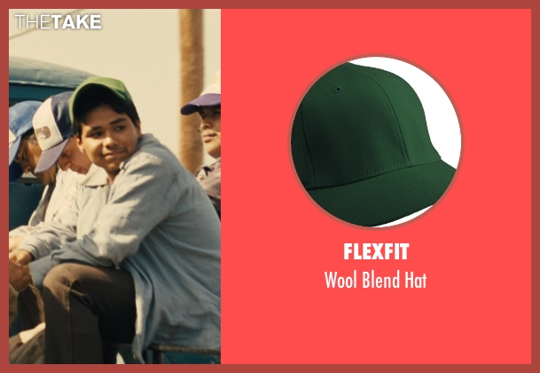 Flexfit green hat from McFarland, USA seen with Rafael Martinez (David Diaz)