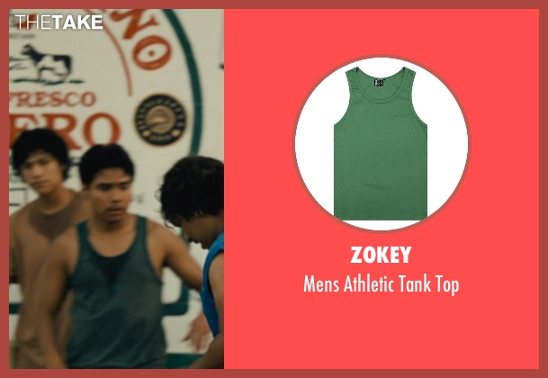 Zokey green top from McFarland, USA seen with Rafael Martinez (David Diaz)