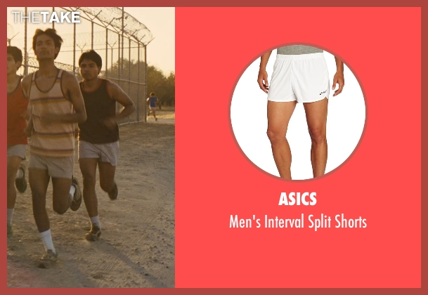 Asics white shorts from McFarland, USA seen with Rafael Martinez (David Diaz)