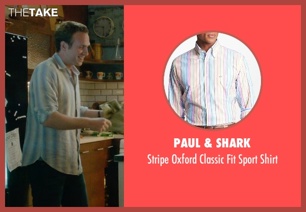 Paul & Shark shirt from What If seen with Rafe Spall (Ben)