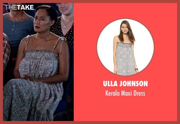 Ulla Johnson dress from Black-ish seen with Rainbow Johnson (Tracee Ellis Ross)