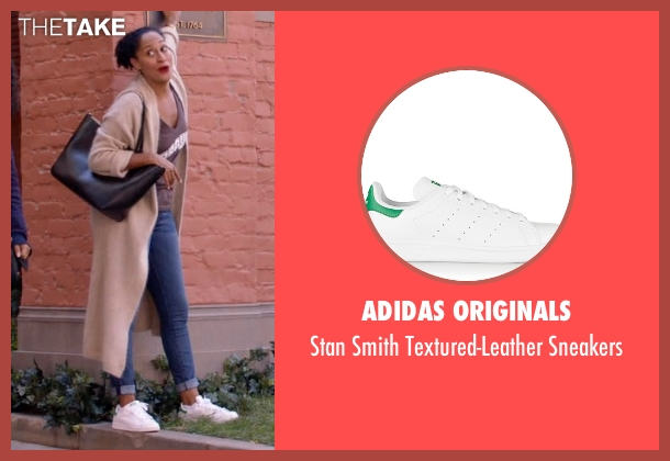 Adidas Originals white sneakers from Black-ish seen with Rainbow Johnson (Tracee Ellis Ross)