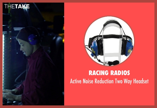 Racing Radios headset from Need for Speed seen with Rami Malek (Finn)