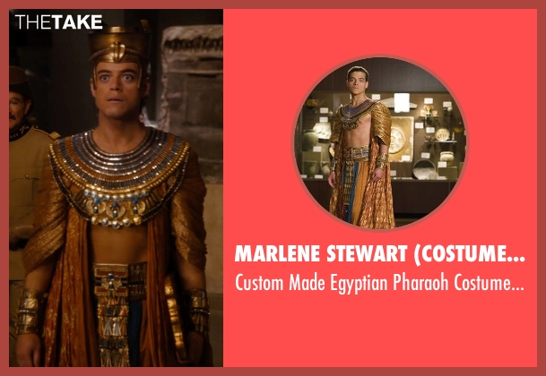 Marlene Stewart (Costume Designer) costume from Night at the Museum: Secret of the Tomb seen with Rami Malek (Ahkmenrah)