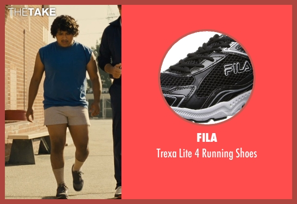 Fila black shoes from McFarland, USA seen with Ramiro Rodriguez (Danny Diaz)