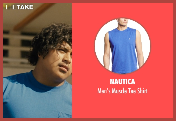 Nautica blue shirt from McFarland, USA seen with Ramiro Rodriguez (Danny Diaz)