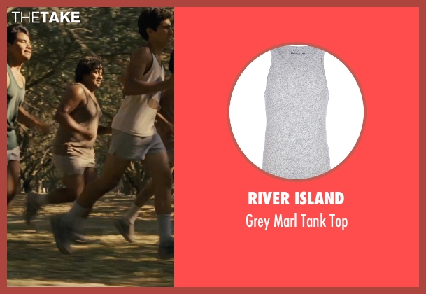 River Island gray top from McFarland, USA seen with Ramiro Rodriguez (Danny Diaz)