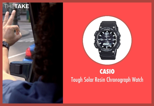 Casio black watch from Need for Speed seen with Ramon Rodriguez (Joe Peck)