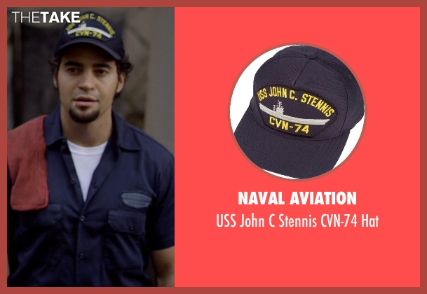 Naval Aviation blue hat from Need for Speed seen with Ramon Rodriguez (Joe Peck)