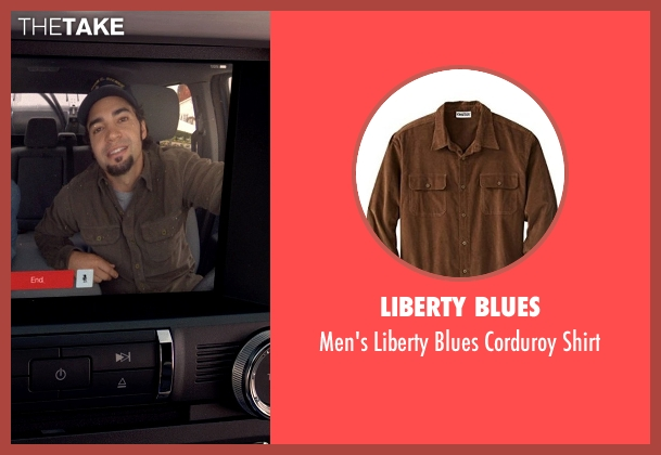 Liberty Blues brown shirt from Need for Speed seen with Ramon Rodriguez (Joe Peck)