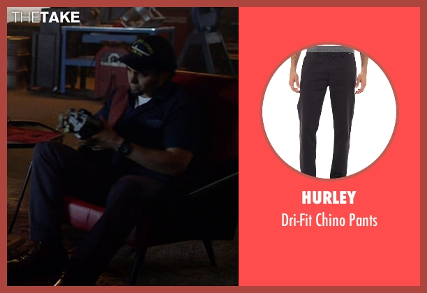 Hurley gray pants from Need for Speed seen with Ramon Rodriguez (Joe Peck)