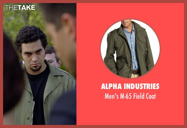 Alpha Industries green coat from Need for Speed seen with Ramon Rodriguez (Joe Peck)