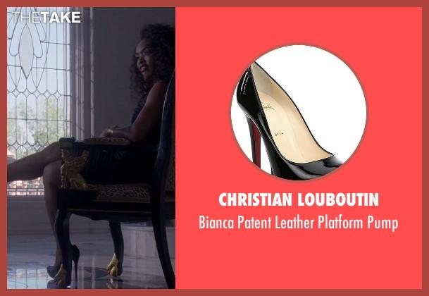 Christian Louboutin black pump from American Horror Story seen with Ramona Royale (Angela Bassett)
