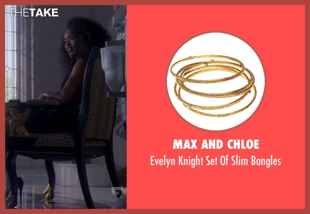 Max And Chloe gold bangles from American Horror Story seen with Ramona Royale (Angela Bassett)