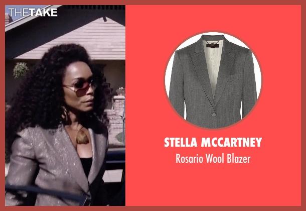 Stella McCartney gray blazer from American Horror Story seen with Ramona Royale (Angela Bassett)