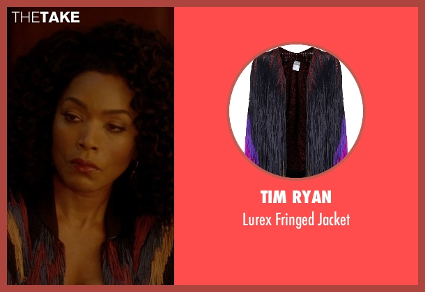 Tim Ryan jacket from American Horror Story seen with Ramona Royale (Angela Bassett)
