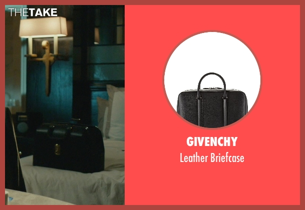 Givenchy black briefcase from John Wick seen with Randall Duk Kim (Continental Doctor)