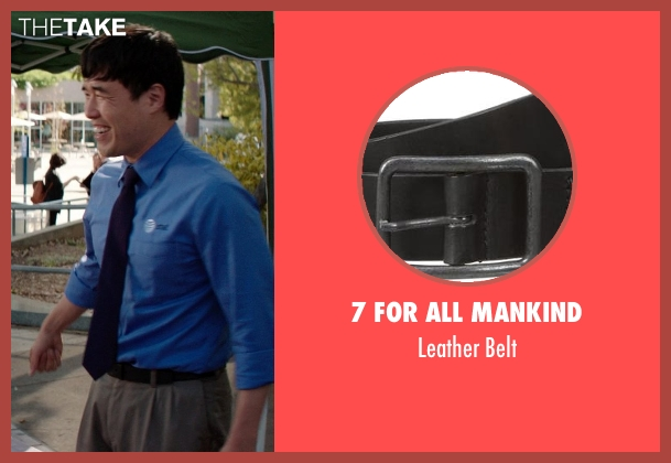 7 For All Mankind black belt from Neighbors seen with Randall Park (Rep)