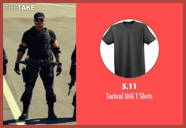 5.11 black shirts from The Expendables 3 seen with Randy Couture (Toll Road)