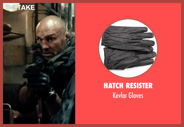 Hatch Resister gloves from The Expendables 3 seen with Randy Couture (Toll Road)