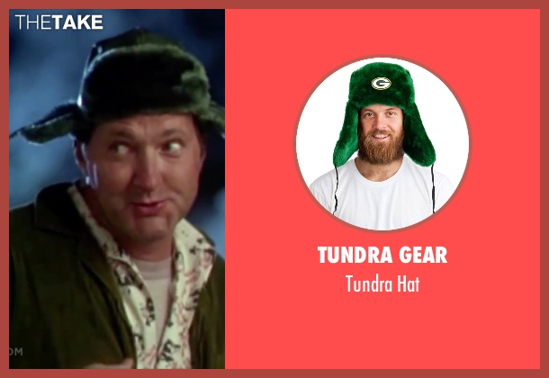 Tundra Gear green hat from Christmas Vacation seen with Randy Quaid (Eddie)