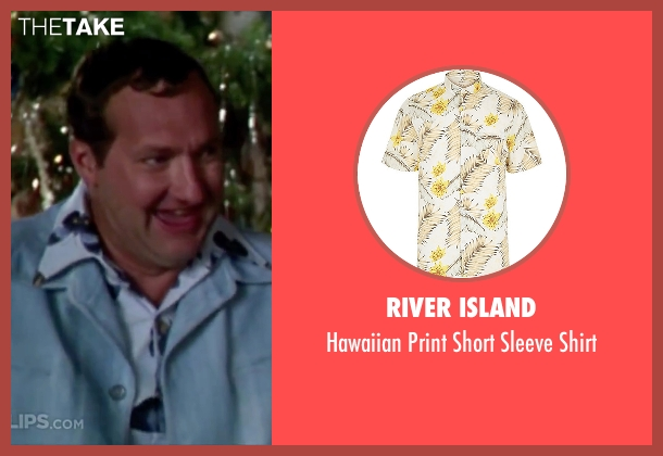 River Island white shirt from Christmas Vacation seen with Randy Quaid (Eddie)