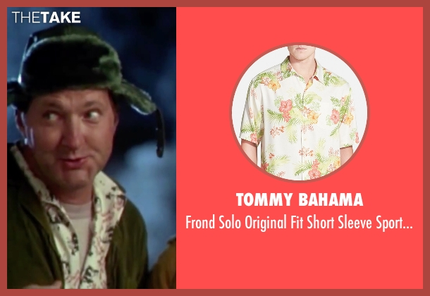Tommy Bahama white shirt from Christmas Vacation seen with Randy Quaid (Eddie)