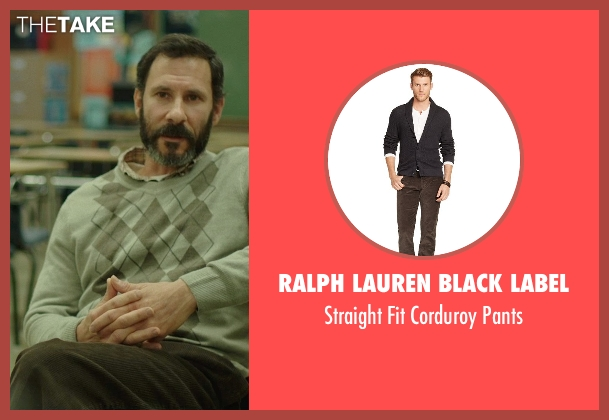 Ralph Lauren Black Label brown pants from Wild seen with Randy Schulman (Dr. Paula Agard)