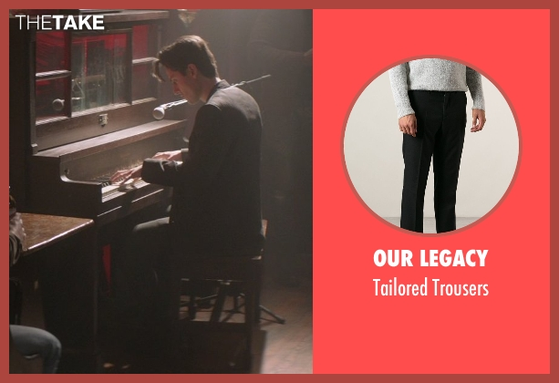 Our Legacy black trousers from That Awkward Moment seen with Raul Casso (Attractive Guy (Diego))