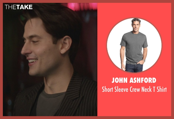 John Ashford gray shirt from That Awkward Moment seen with Raul Casso (Attractive Guy (Diego))