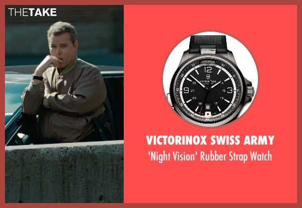 Victorinox Swiss Army black watch from The Place Beyond The Pines seen with Ray Liotta (Deluca)
