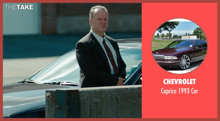Chevrolet car from The Place Beyond The Pines seen with Ray Liotta (Deluca)