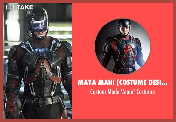 Maya Mani (Costume Designer) costume from Arrow seen with Ray Palmer / The Atom (Brandon Routh)
