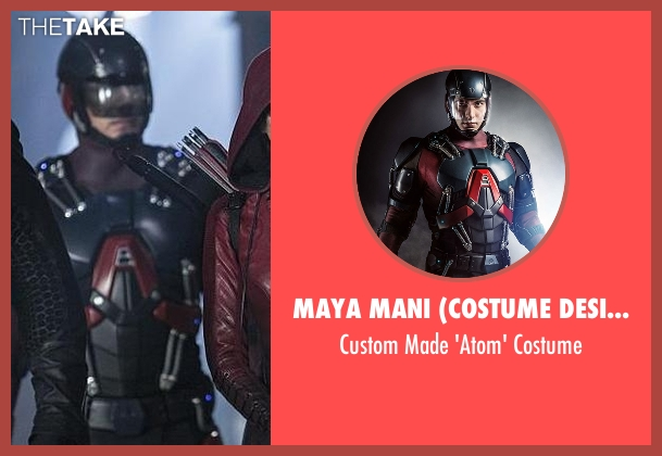 Maya Mani (Costume Designer) costume from The Flash seen with Ray Palmer / The Atom (Brandon Routh)
