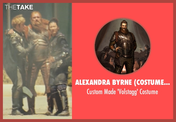 Alexandra Byrne (Costume Designer) costume from Thor seen with Ray Stevenson (Volstagg)