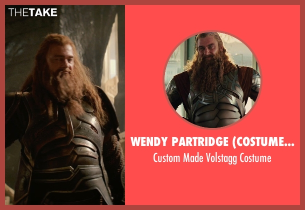 Wendy Partridge (Costume Designer) costume from Thor: The Dark World seen with Ray Stevenson (Volstagg)