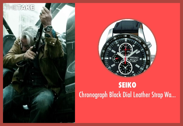 Seiko black watch from Point Break seen with Ray Winstone (Angelo Pappas)