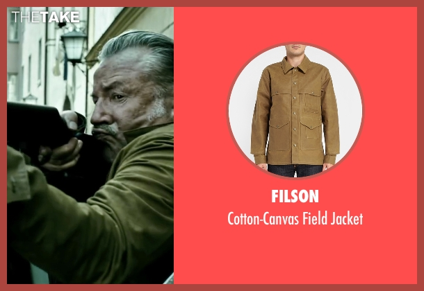 Filson brown jacket from Point Break seen with Ray Winstone (Angelo Pappas)