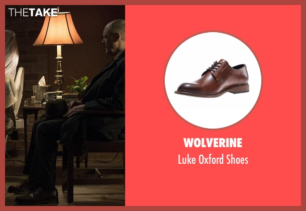 Wolverine brown shoes from The Blacklist seen with Raymond 'Red' Reddington (James Spader)