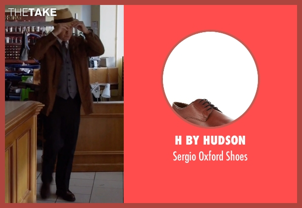 H by Hudson brown shoes from The Blacklist seen with Raymond 'Red' Reddington (James Spader)