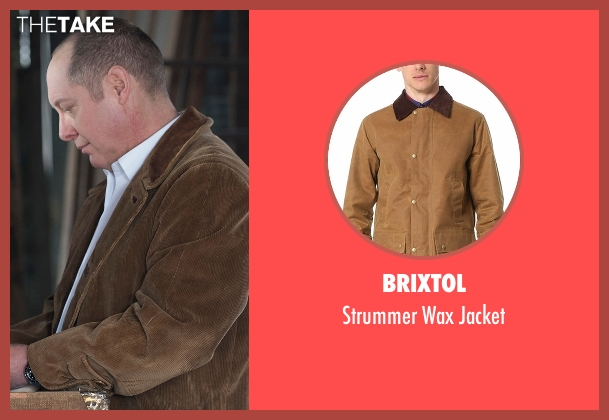 Brixtol jacket from The Blacklist seen with Raymond 'Red' Reddington (James Spader)