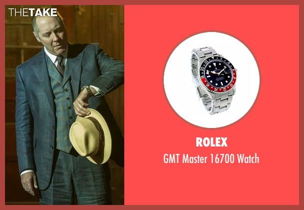 Rolex silver watch from The Blacklist seen with Raymond 'Red' Reddington (James Spader)