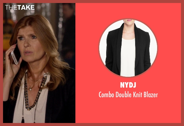 NYDJ black blazer from Nashville seen with Rayna Jaymes  (Connie Britton)