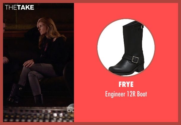FRYE black boot from Nashville seen with Rayna Jaymes  (Connie Britton)