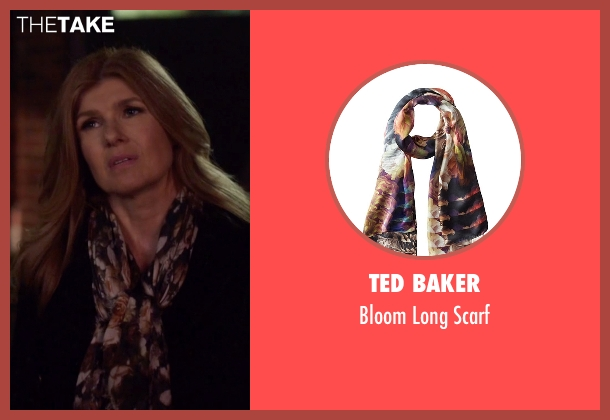 Ted Baker black scarf from Nashville seen with Rayna Jaymes  (Connie Britton)