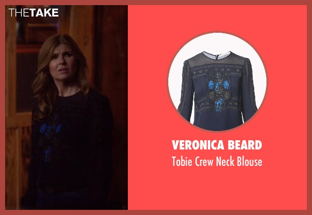 Veronica Beard blouse from Nashville seen with Rayna Jaymes  (Connie Britton)