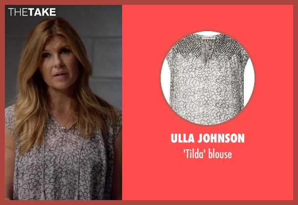 Ulla Johnson gray blouse from Nashville seen with Rayna Jaymes  (Connie Britton)