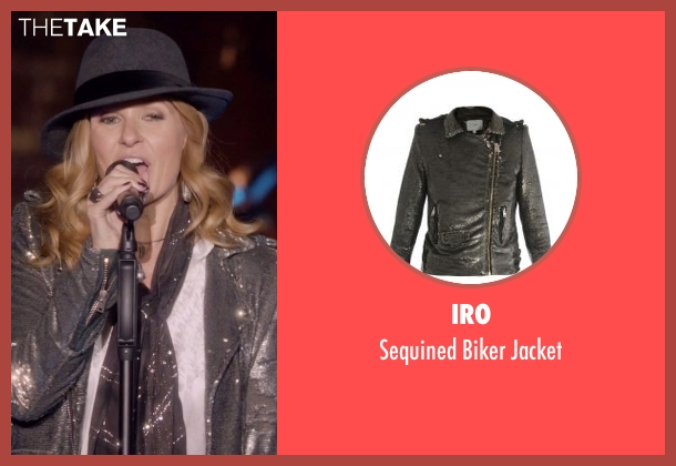 IRO gray jacket from Nashville seen with Rayna Jaymes  (Connie Britton)