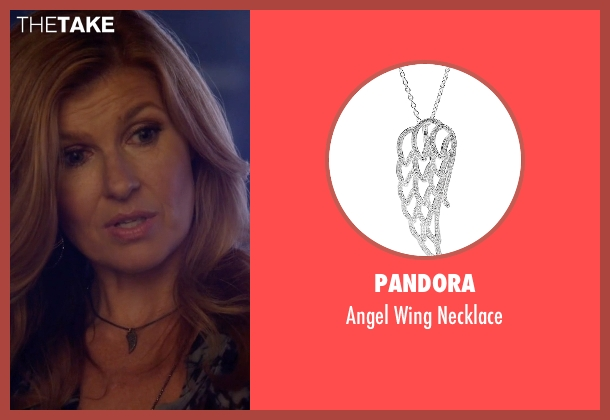 Pandora silver necklace from Nashville seen with Rayna Jaymes  (Connie Britton)