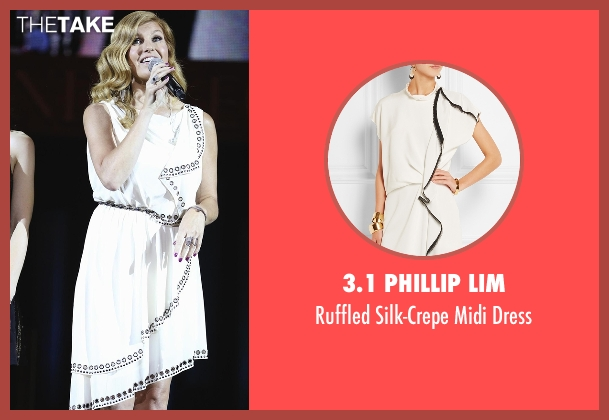 3.1 Phillip Lim white dress from Nashville seen with Rayna Jaymes  (Connie Britton)